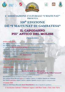 MANIFESTO MAITUNAT X NATALE A4